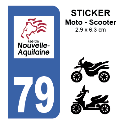 79 deux s vres pour moto sticker plaque immatriculation. Black Bedroom Furniture Sets. Home Design Ideas
